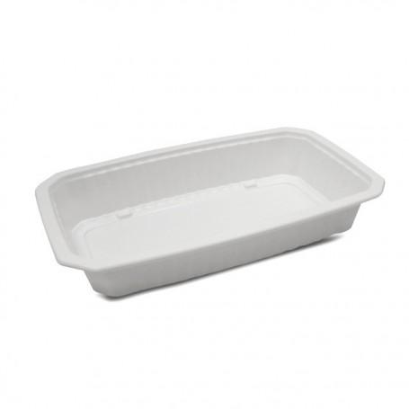 Barquette plastique scellable blanche GASTROPACK 1250 ml - par 400