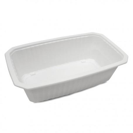 Barquette plastique scellable blanche GASTROPACK 2000 ml - par 320
