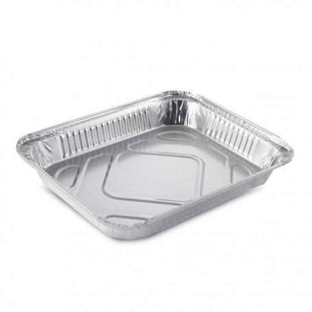 Plat aluminium refermable 2400 ml - par 300