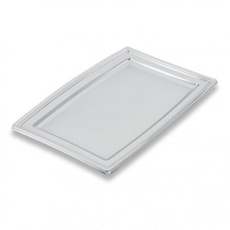 Plateau de présentation buffet argent 36 x 25,3 cm - par 5