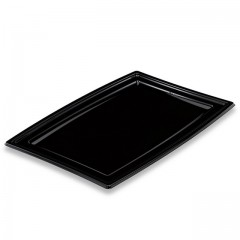 Plateau de présentation buffet noir 36 x 25,3 cm - par 5