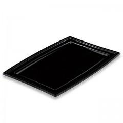 Plateau de présentation buffet noir 36 x 25,3 x 10 cm - par 5