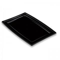 Plateau de présentation buffet noir 46 x 30,5 x 18 cm - par 5