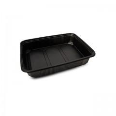 Barquette plastique scellable noire CELOTOP 500 ml - par 300