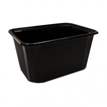 Barquette plastique scellable noires CELOTOP 1500 ml - par 300