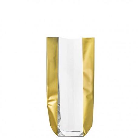 Sachet confiseur fond carton DENTELLE OR 120 x 260 mm - par 100