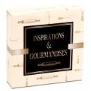 Boîte pâtissière 33 x 33 x 5 cm décor INSPIRATION - par 50