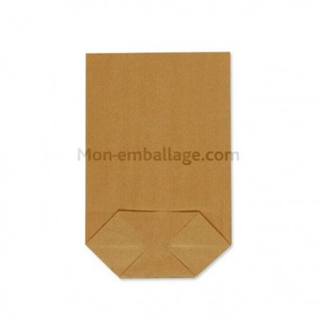 Sachet écorné papier kraft blanc 18 x 28.5 cm - par 500
