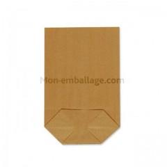Sachet écorné papier kraft blanc 16,5 x 26,5 cm - par 1000