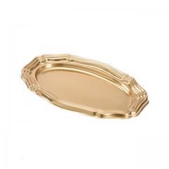 Grand plat ovale 46 x 30 cm or - par 5