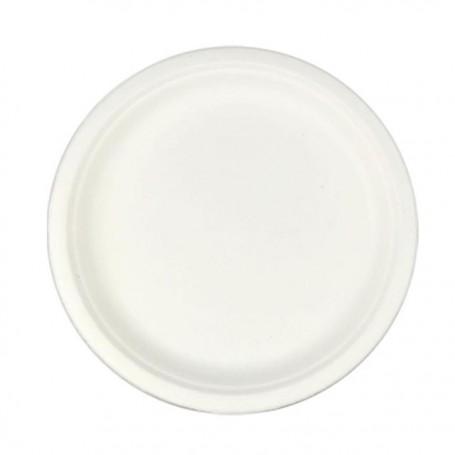 Assiette ronde en bagasse Ø 26 cm - par 50