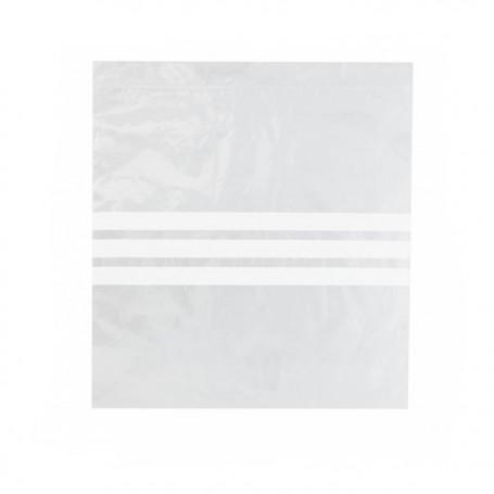 Sachet plastique à fermeture auto-adhésive 27 x 27 cm - par 500