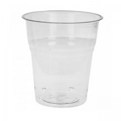 Gobelet biodégradable transparent en PLA 20cl - par 50