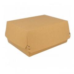 Boite lunch box kraft brun 22,5 x 9 x 18 cm - par 50