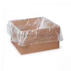 Sac fond de caisse 60 x 20 x 60 cm - 22 micron - carton de 500