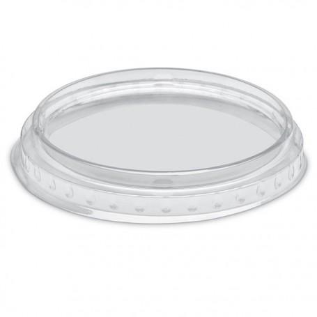 Couvercle plat transparent pour pot à dessert 200 ml - par 50