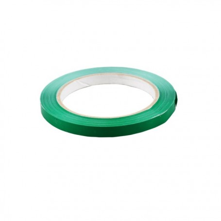 Rouleau adhésif PVC vert 9 mm x 66 m - l'unité