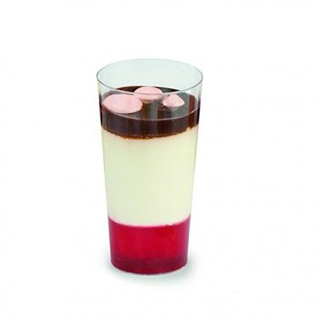 Verrine transparente 6 cl effet cristal - par 30