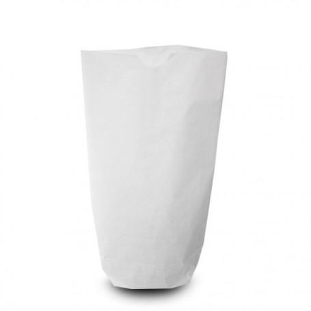 Sachet écorné papier kraft blanc 15 x 23 cm - par 1000