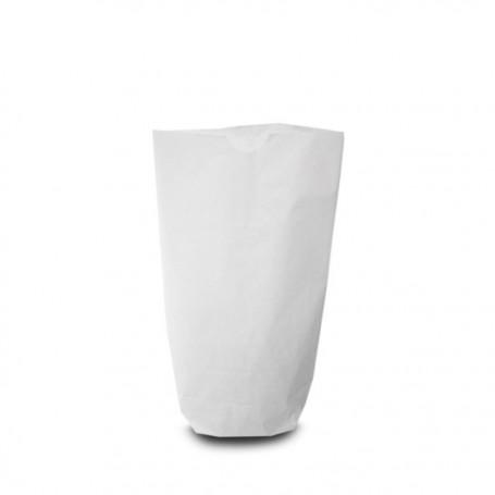 Sachet écorné papier kraft blanc 12 x 20 cm - par 1000