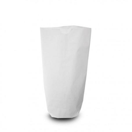 Sachet écorné papier kraft blanc 12,5 x 22,5 cm - par 1000