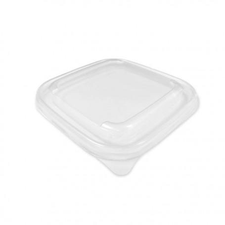 Saladier carré biodégradable en pulpe 750 ml - par 50