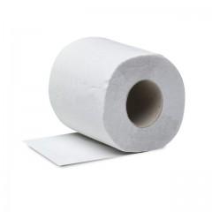 Rouleaux de papier toilette blanc - par 12