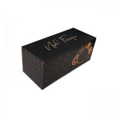 Boîte à bûche Noël féérique 25 x 11 x 10.5 cm - par 25