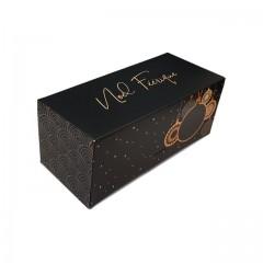 Boîte à bûche Noël féérique 30 x 11 x 10.5 cm - par 25