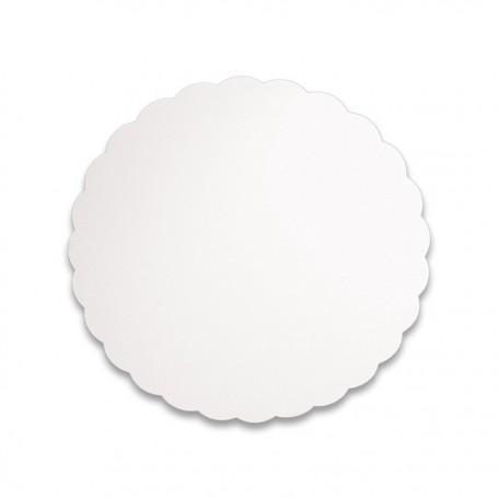 Support blanc rond diamètre 17 cm - paquet de 500