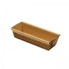 Moule de cuisson pour cake Novacart 15 x 6,5 x 5 cm en papier brun - par 100