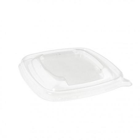 Couvercle pour saladier carré biodégradable 500 ml
