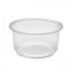Pot plastique rond 350 ml TUSIPACK - par 500