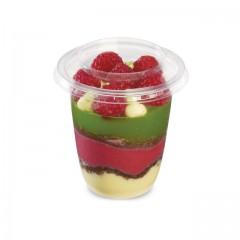 Pot à dessert 200 ml Servipack et son couvercle - par 1050