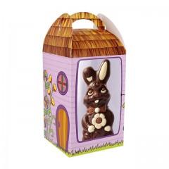 Grande boîte à œuf de Pâques avec fenêtre 15,5 x 15,5 x 25 cm - par 25