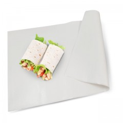 Papier paraffiné végétale Micropap 1 face 40 g/m² compostable en feuilles de 50 x 65 cm - par 12,5 kg