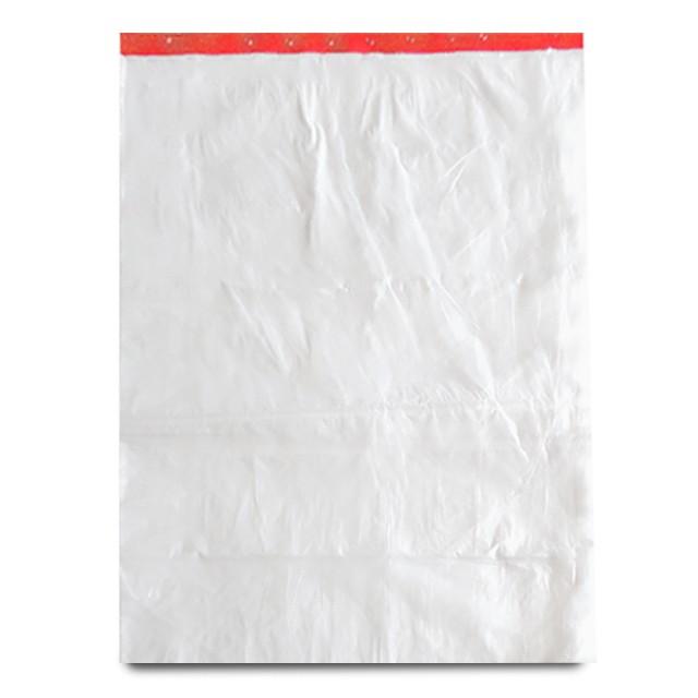 Feuilles liassées transparentes PEHD 80 x 70 cm - par 1000