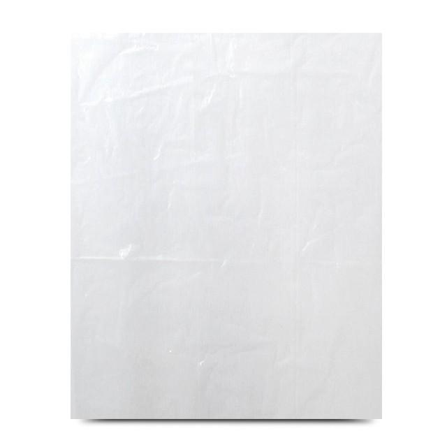 Feuilles liassées transparentes PEBD 80 x 70 cm - par 1000