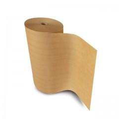 Papier paraffiné 1 face brun parakraft 40 gr/m² en bobine de 50 cm - par 10 kg