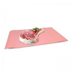 Papier paraffiné 2 faces rose paraffiné 60 g/m² 33 x 50 cm - par 10 kg
