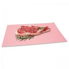Papier paraffiné 1 face rose endurose 50 g/m² 33 x 50 cm - par 10 kg