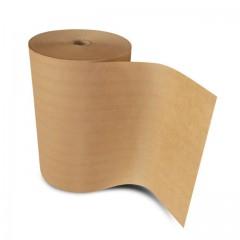 Papier paraffiné 1 face brun parakraft 40 gr/m² en bobine de 33 cm - par 8,5 kg