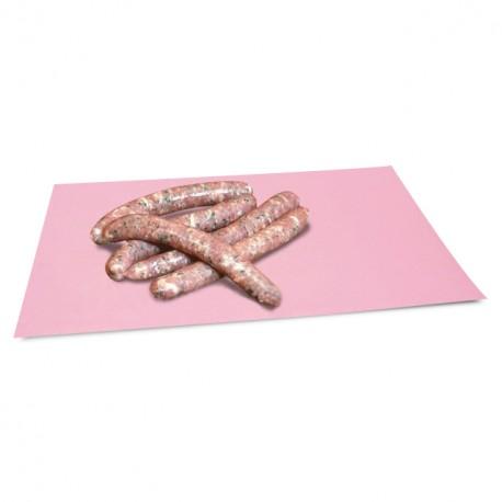 Papier enduit rose en format de 50 cm x 66 cm - paquet de 10 kg