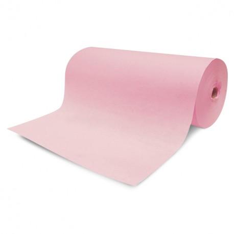Papier enduit rose en bobinot de 50 cm - rouleau de 12,5 kg