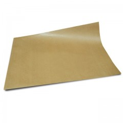 Papier thermoscellable kraft brun format 50 x 66 cm - paquet de 10 kg