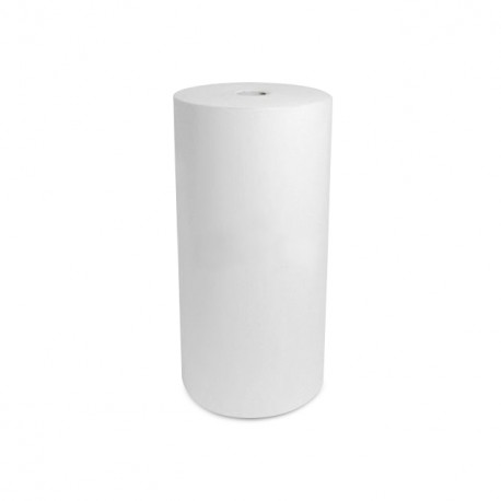 Papier thermoscellable blanc 60 gr/m² en bobine de 50 cm - rouleau 10 kg