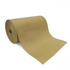 Papier thermoscellable kraft brun en bobine de 33 cm - rouleau de 10 kg