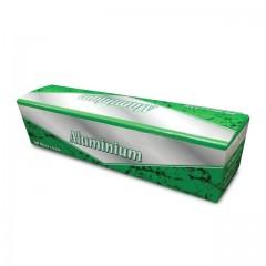Rouleau aluminium en boîte distributrice 45 cm x 200 m - l'unité