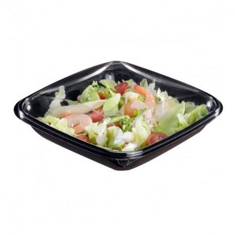 Boite à salade crudipack 370 gr avec couvercle - par 80