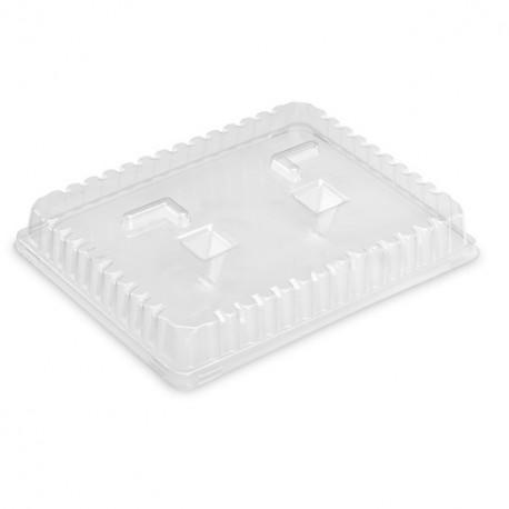 Couvercle plateau repas 38,1 x 23,1 x 4,2 cm - carton de 120